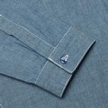Мужская рубашка Garbstore Pullover Blue фото- 2