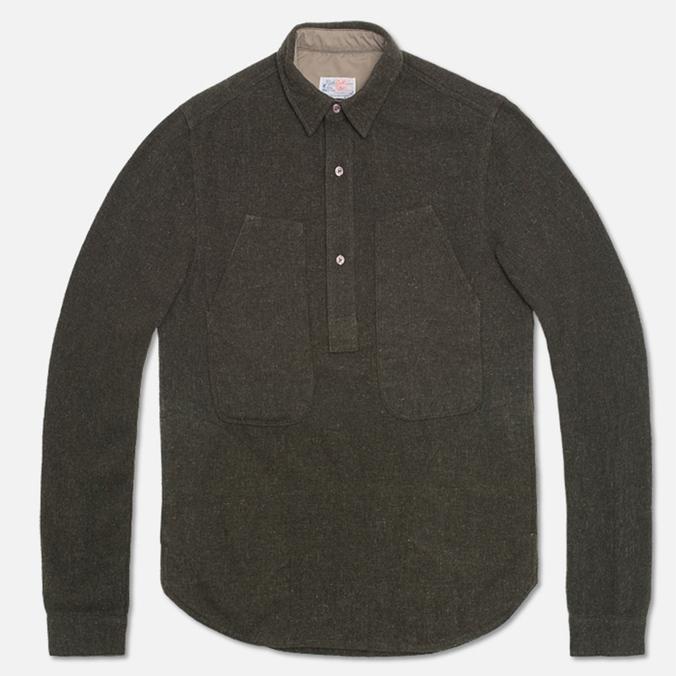 Мужская рубашка Garbstore Pullover Green