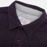 Garbstore Pullover Shirt Navy photo- 1