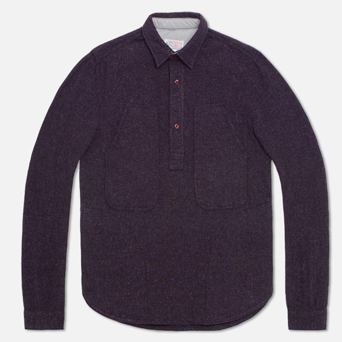 Мужская рубашка Garbstore Pullover Navy