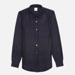 Gloverall Classic Original Check Shirt Navy photo- 0