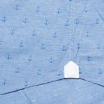 Мужская рубашка Hackett Anchor Dobby Blue фото- 4