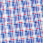 Мужская рубашка Hackett Bright Summer Check Blue фото- 2