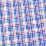 Hackett Bright Summer Check Men's Shirt Blue photo- 2