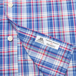 Мужская рубашка Hackett Bright Summer Check Blue фото- 4