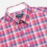 Мужская рубашка Hackett Bright Summer Check Coral фото- 1