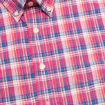 Мужская рубашка Hackett Bright Summer Check Coral фото- 2
