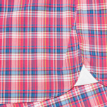 Мужская рубашка Hackett Bright Summer Check Coral фото- 4