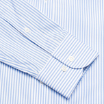 Мужская рубашка Hackett Classic Stripe Multi Trim White/Sky фото- 3