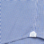 Мужская рубашка Hackett Gingham Badge White/Blue фото- 4