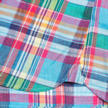 Мужская рубашка Hackett Linen Summer Plaid Multicolor фото- 4