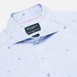 Мужская рубашка Hackett Multi Dobby Sky фото- 1