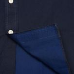 Мужская рубашка Hackett Solid Texture Navy фото- 5