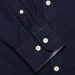 Мужская рубашка Hackett Solid Texture Navy фото- 3