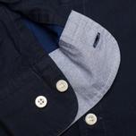 Мужская рубашка Hackett Solid Texture Navy фото- 4
