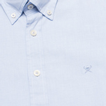 Мужская рубашка Hackett Washed Plain Pinpoint Sky фото- 2