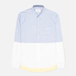 Мужская рубашка Kommon Universe Revolve Blue/White фото- 0