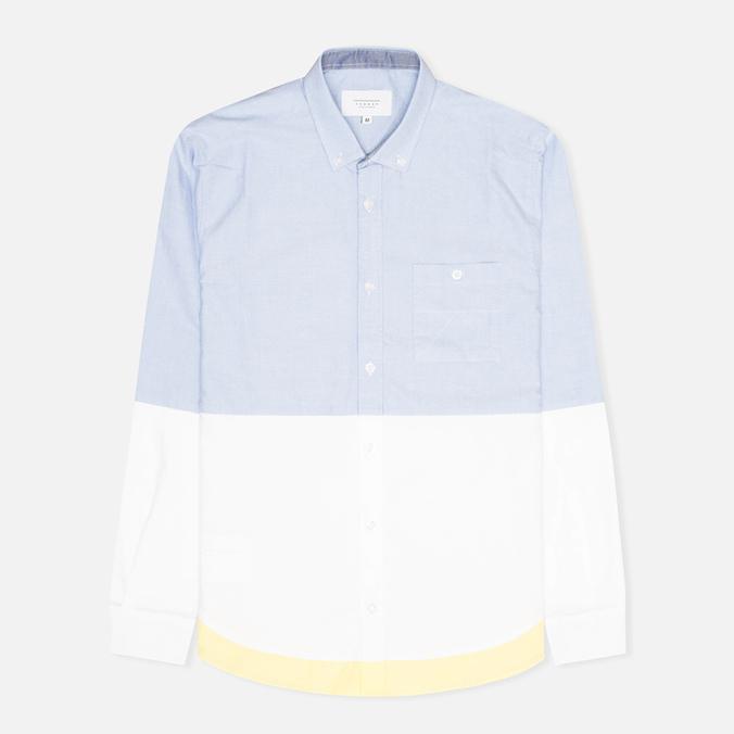 Мужская рубашка Kommon Universe Revolve Blue/White