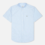 Мужская рубашка Lacoste Classic Fit Short Sleeve Naval фото- 0