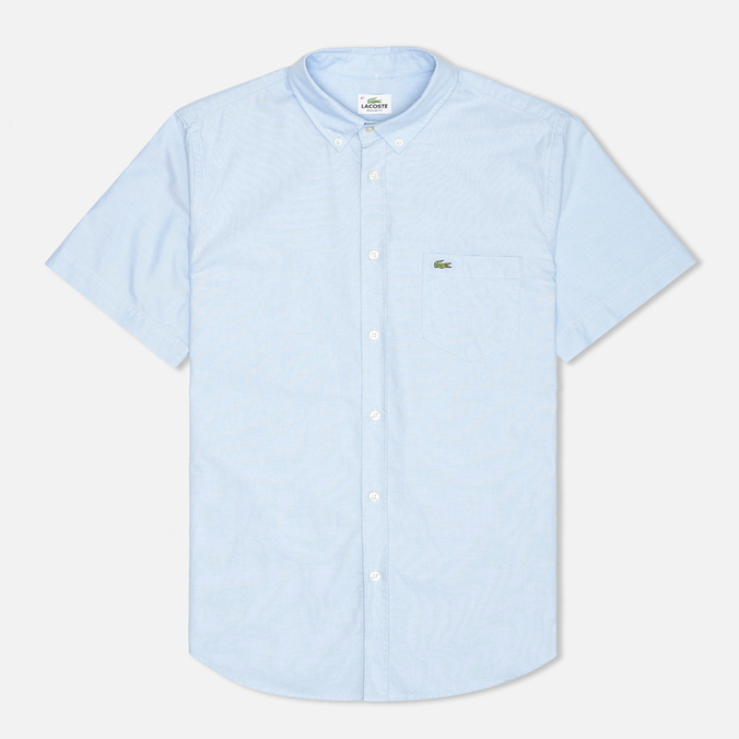 Lacoste Classic Fit Short Sleeve Men's Shirt Naval