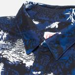 Мужская рубашка Lacoste Live Camo Navy/Black/White фото- 1