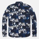 Мужская рубашка Lacoste Live Camo Navy/Black/White фото- 0