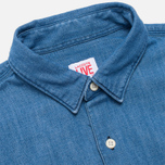 Мужская рубашка Lacoste Live Denim Shirt Blue фото- 1