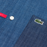 Мужская рубашка Lacoste Live Denim Shirt Dark Blue фото- 2
