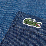 Мужская рубашка Lacoste Live Denim Shirt Dark Blue фото- 4