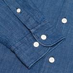 Мужская рубашка Lacoste Live Denim Shirt Dark Blue фото- 3