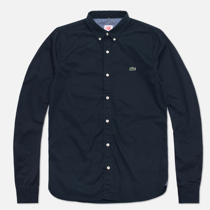 Мужская рубашка Lacoste Live Shirt Dark Navy
