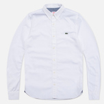 Мужская рубашка Lacoste Live Gomlek White фото- 0