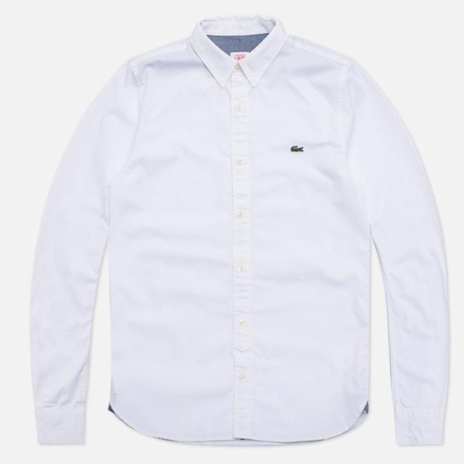 Мужская рубашка Lacoste Live Gomlek White