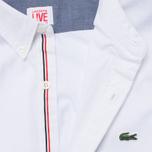 Мужская рубашка Lacoste Live Gomlek White фото- 2