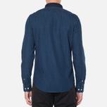 Lacoste Live Skinny Fit Denim Shirt Dark Blue Rinse photo- 3