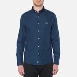 Lacoste Live Skinny Fit Denim Shirt Dark Blue Rinse photo- 4