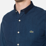 Lacoste Live Skinny Fit Denim Shirt Dark Blue Rinse photo- 5