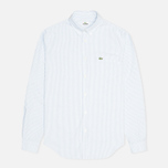 Lacoste Live Striped Oxford Men's Shirt Astre/White photo- 0