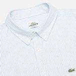 Lacoste Live Striped Oxford Men's Shirt Astre/White photo- 1