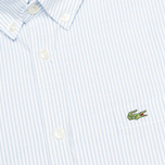 Lacoste Live Striped Oxford Men's Shirt Astre/White photo- 2