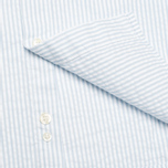 Мужская рубашка Lacoste Live Striped Relief Ciel/Blanc фото- 4