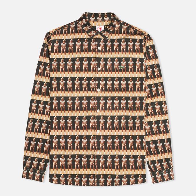 Мужская рубашка Lacoste Live Vintage Graphic Woven Floral