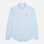 Мужская рубашка Lacoste Oxford Cotton Regular Fit Naval фото- 0