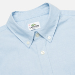 Мужская рубашка Lacoste Oxford Cotton Regular Fit Naval фото- 1