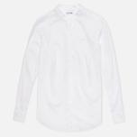 Женская рубашка Lacoste Chambray Voile White фото- 0