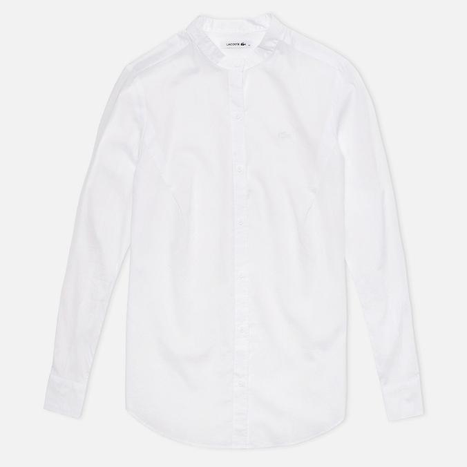 Женская рубашка Lacoste Chambray Voile White