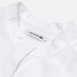 Женская рубашка Lacoste Chambray Voile White фото- 1