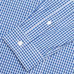 Мужская рубашка Lyle & Scott Logo Oxford French Navy фото- 3