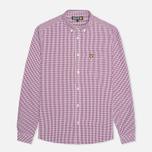 Мужская рубашка Lyle & Scott Traditional Gingham Blackcurrant фото- 0