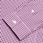 Мужская рубашка Lyle & Scott Traditional Gingham Blackcurrant фото- 3